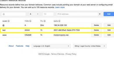google domain name renew