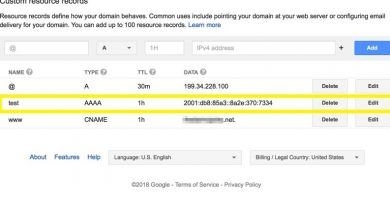 google domain name renew